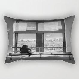 Ventana al mundo Rectangular Pillow