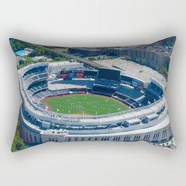 Yankee Stadium From Above Rectangular Pillow