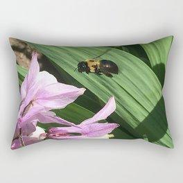 Flight of the Bumble Bee Rectangular Pillow