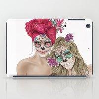 dia de los muertos iPad Cases featuring Dia de los muertos by alicetischer
