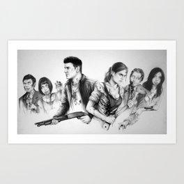 zombones Art Print