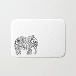 Ampersand Elephant Bath Mat