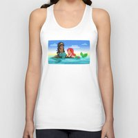 ouat Tank Tops featuring OUAT - Mermaids by Choco-Minto