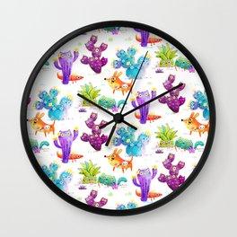 Catcti fiel Wall Clock