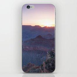 Beautiful Sunrise in the Grand Canyon iPhone Skin
