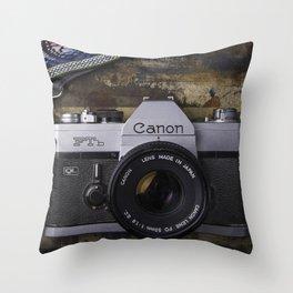 Canon Film Throw Pillow