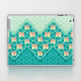 Blue Garden Pattern Laptop & iPad Skin