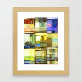 tile of non-inhibition Framed Art Print