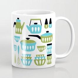 My Midcentury Modern Kitchen In Aqua And Avocado Coffee Mug