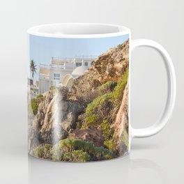 Villa Casa House Paradise Isla Mujeres Mexico Landscape Seascape Caribbean Sea Island Ocean Beach Coffee Mug