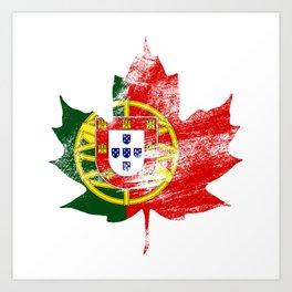 Portugal/Canada Art Print