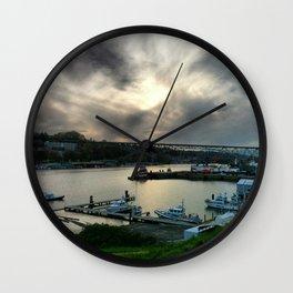 GasWorks Seattle Wall Clock