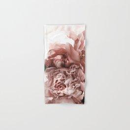 Blush Pink Floral Hand & Bath Towel