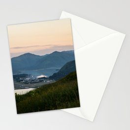 Island Mountaintop Stationery Cards