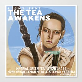 Tea Awakens Canvas Print