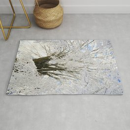 Icy Branches Rug