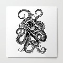 Octopus design Metal Print