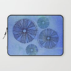 Blue Sea Urchin Laptop Sleeve
