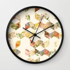 Keziah - Flowers Wall Clock