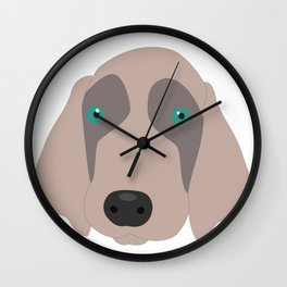 Chet to Pipa Wall Clock