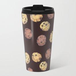 cookies pattern_brown Travel Mug