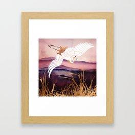 Elegant Flight III Framed Art Print