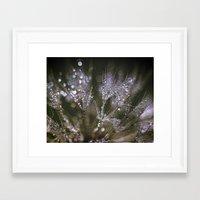 glitter Framed Art Prints featuring glitter by Bonnie Jakobsen-Martin