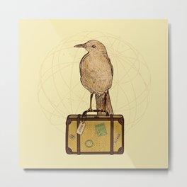 Migrating Bird Metal Print