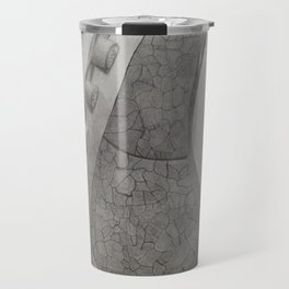 Depiction of the Right Lung B&W Travel Mug