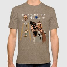 The Big Lebowski - Mark it Zero Tri-Coffee Mens Fitted Tee LARGE