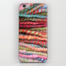 Handspun Yarn Color Pattern by robayre iPhone & iPod Skin