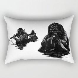 Combat Diver Rectangular Pillow