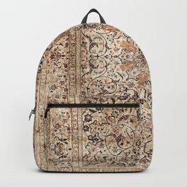Silk Esfahan Persian Carpet Print Backpack