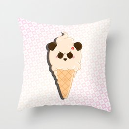 1-Scoop Panda Throw Pillow