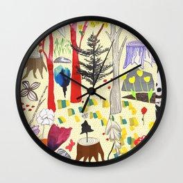 Magic Wood Wall Clock