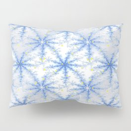 Snow Flakes Design Pillow Sham
