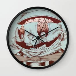 Kitty Fun Wall Clock