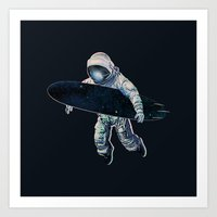 Gravitational Waves Art Print