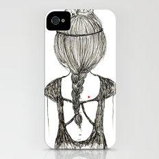 Cat Girl Slim Case iPhone (4, 4s)