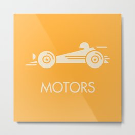 MOTORS / The Car Metal Print