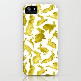 Sunny Bunnies iPhone Case