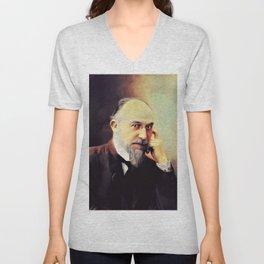 Erik Satie, Music Legend Unisex V-Neck