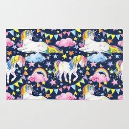Unicorns, Rainbows & Stars Rug
