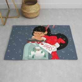 XMAS IN A BOTTLE Rug