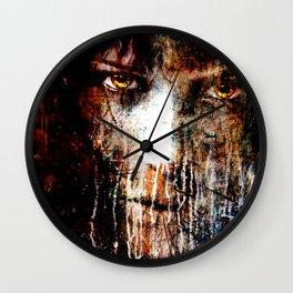Nights Eyes Wall Clock