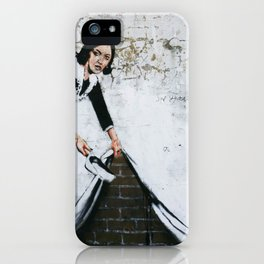 Banksy, Dirty iPhone Case