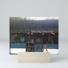 Bob Likes Thai Food Mini Art Print
