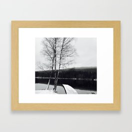 Norwegian Winter Framed Art Print