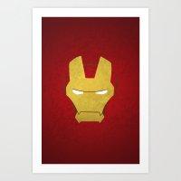 ironman Art Prints featuring Ironman by Liquidsugar