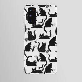 Bad Cats Knocking Stuff Over Android Case